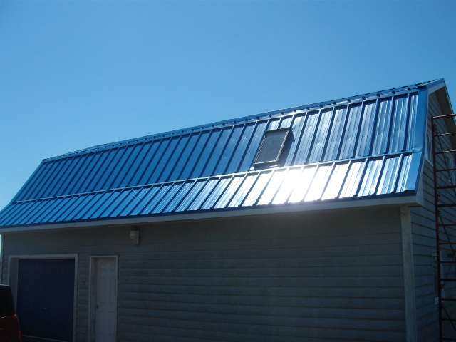 Vertical Roofing Panels Gallery